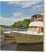 The Rondout At Eddyville Wood Print