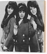 The Ronettes 1966 Wood Print