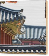 The Roofs Of Suwon Wood Print