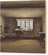 The Room In Which Shakespeare Was Born Wood Print