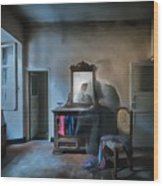 The Room Of The Castle Of The Phantom Of The Mirror Paint Wood Print