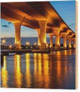 The Roosevelt Bridge Wood Print