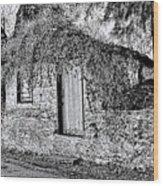The Root Cellar Wood Print