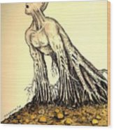 The Roots Are Deep Wood Print