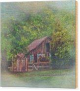 The Rose Barn Wood Print