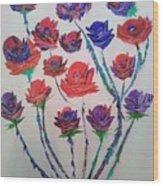The Rose Series Wood Print