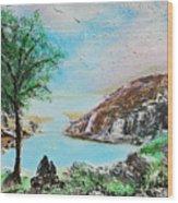 The Rowan Tree Wood Print