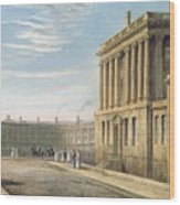 The Royal Crescent Wood Print