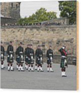 The Royal Regiment Of Scotland Wood Print