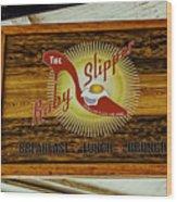 The Ruby Slipper Wood Print