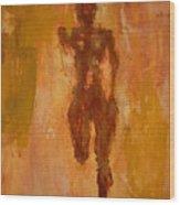 The Runner- Life's Journey  Wood Print