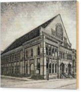 The Ryman Wood Print