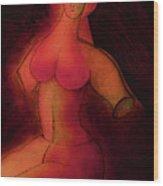 The Sacred Female  Wood Print