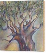 The Sacred Tree Wood Print