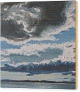 The Saintlawrence Lapocatiere Qc Canada Wood Print