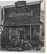 The Saloon Wood Print