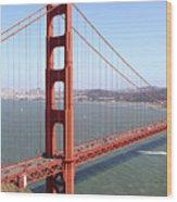 The San Francisco Golden Gate Bridge 7d14507 Panoramic Wood Print