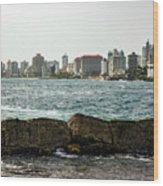 The San Juan Puerto Rico Cityscape Wood Print