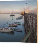 The San Luis Pier Wood Print
