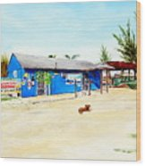 The Sand Bar - Margaritaville, Freeport, Bahamas Wood Print