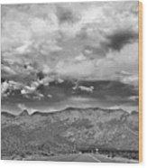 The Sandias Wood Print