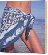 The Sarong Wood Print