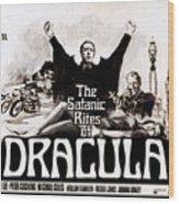 The Satanic Rites Of Dracula, Center Wood Print