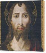 The Savior Wood Print