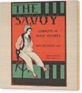 The Savoy Wood Print