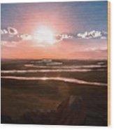 The Scenery - Id 16235-142805-2743 Wood Print