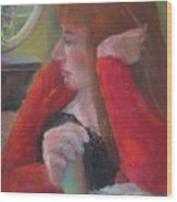 The Scotswoman  Copyrighted Wood Print