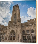 The Scottish Rite Cathedral - Indianapolis Wood Print