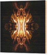 The Screamer Wood Print