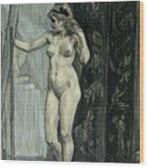 The Screen Wood Print