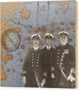 The Sea Captains Wood Print