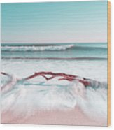 The Sea Green Ocean Fine Art Print Wood Print
