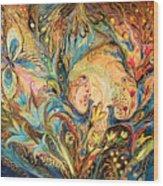 The Sea Soul Wood Print