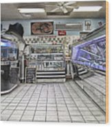 The Seafood Store Wood Print