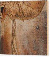 The Seam Wood Print