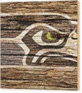 The Seattle Seahawks 2e Wood Print