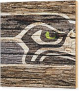 The Seattle Seahawks 2f Wood Print