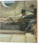 The Secret Wood Print by Sir Lawrence Alma-Tadema