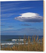 The Seductive Sea Wood Print