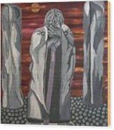 The Seer Wood Print