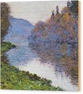 The Seine At Jenfosse Wood Print