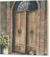 The Sentinel Wood Print