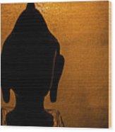 The Serene Buddha  Wood Print