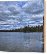 The Serenity Of Limekiln Lake Wood Print