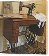 The Sewing Room Wood Print