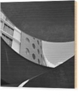 The Shape Of Modern Architecture  Wood Print